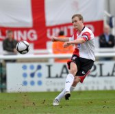 Mark Ricketts playing for Woking